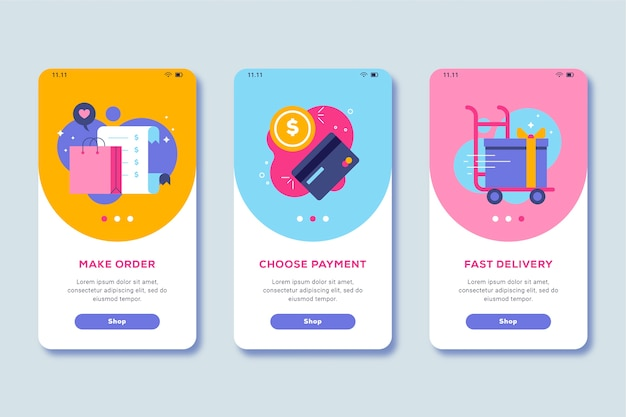 Compre o tema da tela do aplicativo de integração on-line