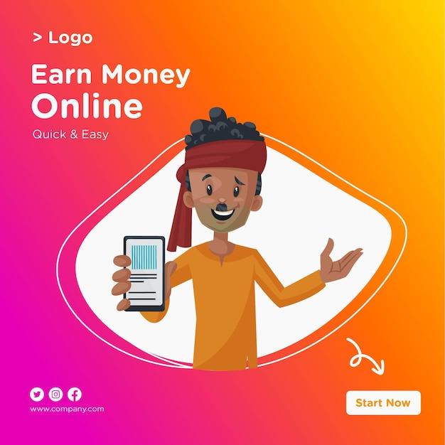 Compre on-line design de supermercado com ilustração de homem indiano