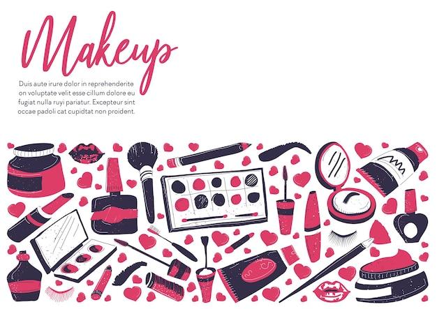 Compre ou armazene produtos cosméticos para mulheres