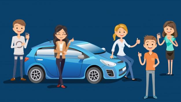 Compre um carro novo com confiança