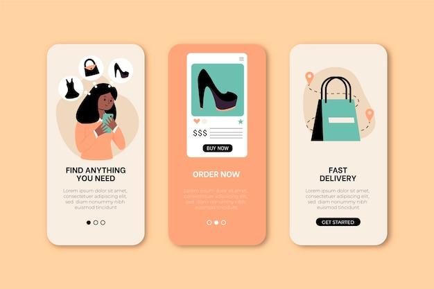 Compre um conjunto de conceitos de aplicativos online