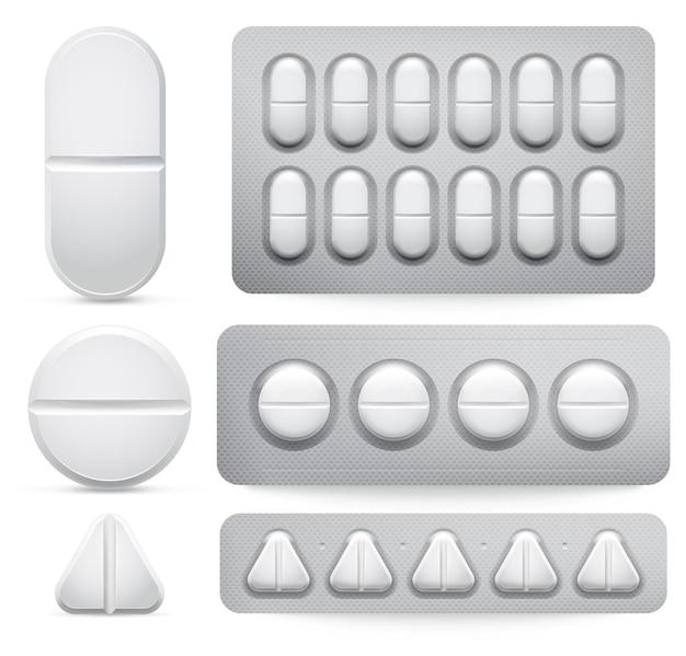 Comprimidos de remédios.