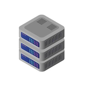 Computador 3d isométrico