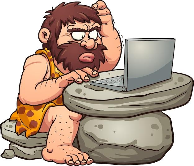 Computador cavernícola