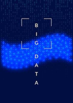 Computador de inovação quântica. tecnologia digital. inteligência artificial, aprendizado profundo e big data