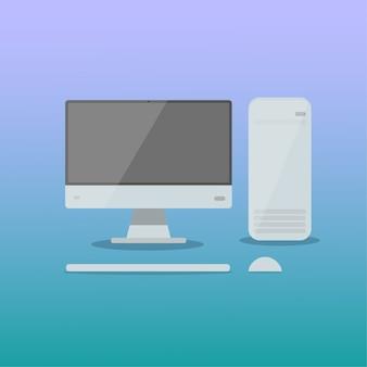 Computador pc momitor