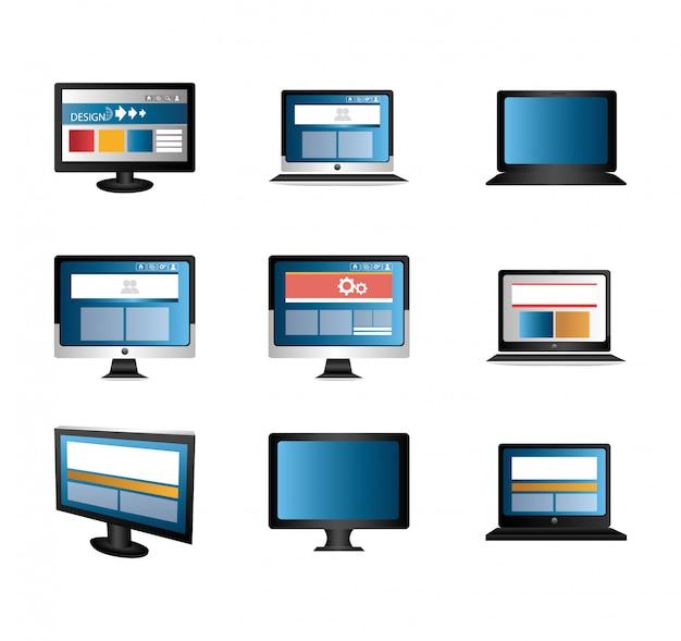 Computadores e laptops