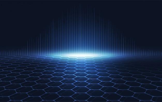 Comunicação de inovação de tecnologia abstrata