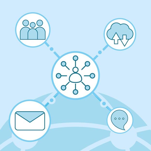 Comunicação de rede social