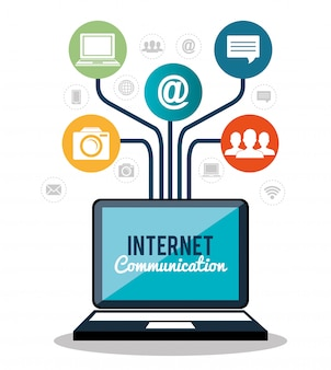 Comunicação pela internet