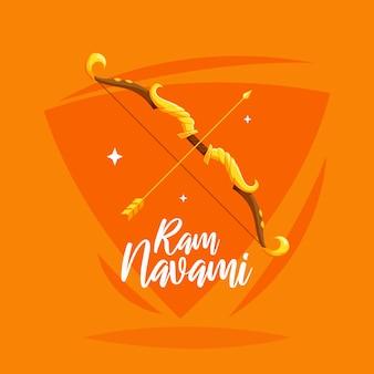 Conceito artístico para o dia de ram navami