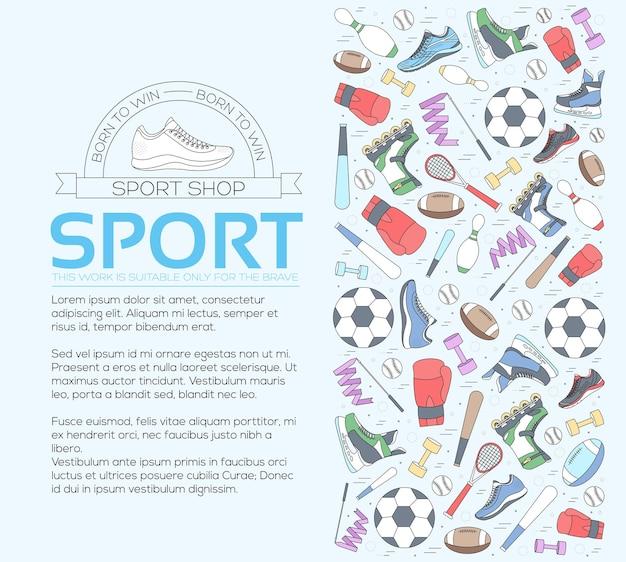 Conceito circular de equipamentos esportivos