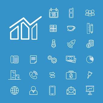 Conceito da finança de Businessl da ilustração de UI