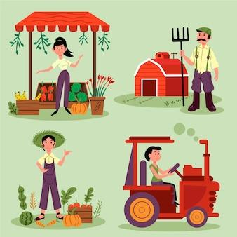 Conceito de agricultura biológica