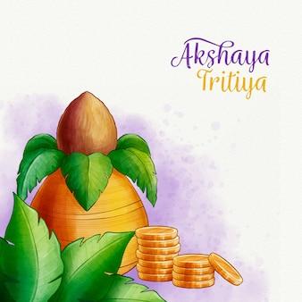 Conceito de akshaya tritiya