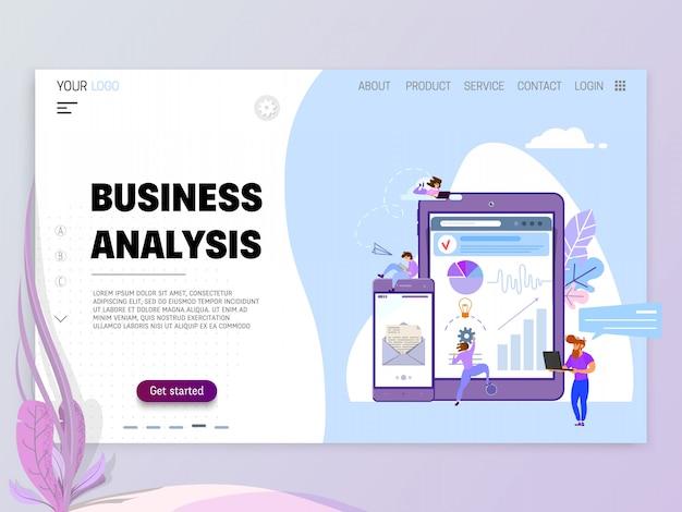 Conceito de análise de negócios