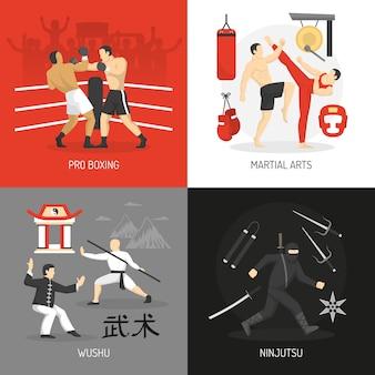 Conceito de artes marciais
