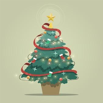 Conceito de árvore de natal