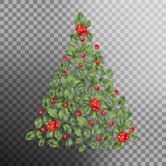 Conceito de árvore de natal.