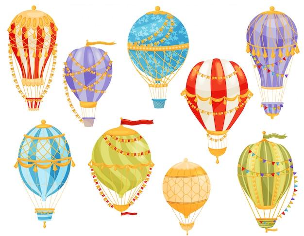 Conceito de balão colorido. ilustração.