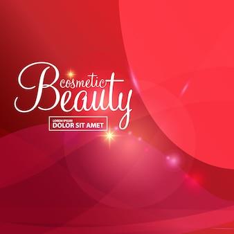 Conceito de beleza de fundo abstrato