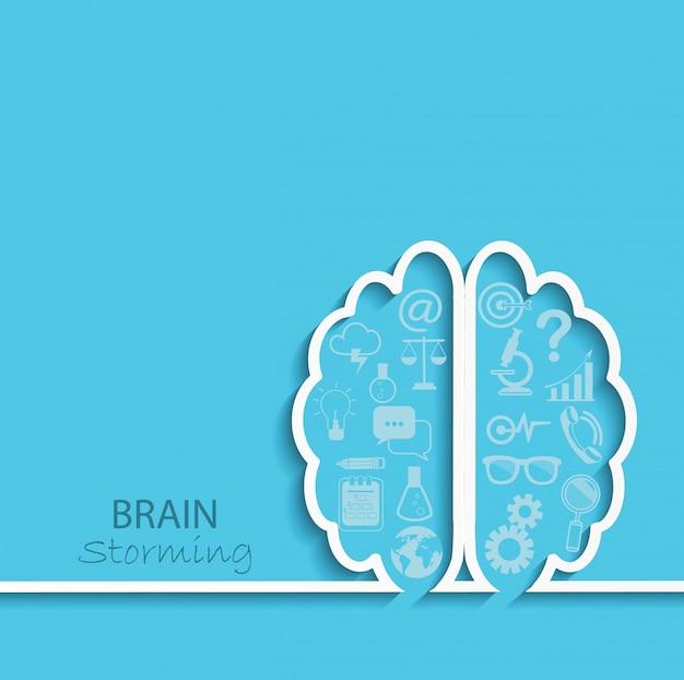 Conceito de brainstorm