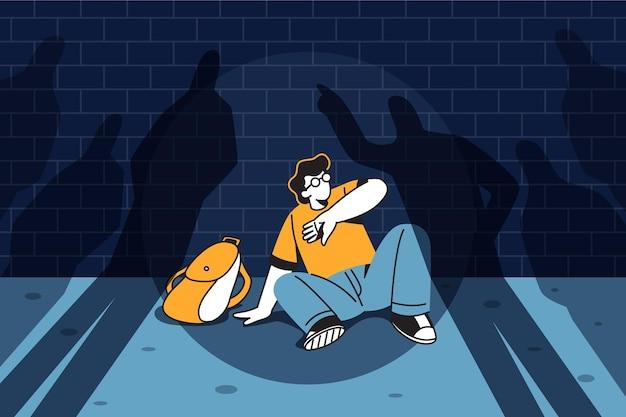 Conceito de bullying