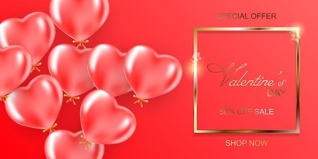Conceito de cartão de dia dos namorados. plano de fundo romântico.