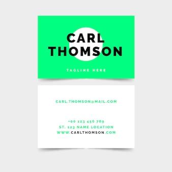 Conceito de cartão de néon
