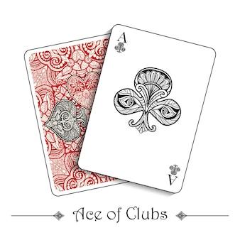 Conceito de cartas de jogar