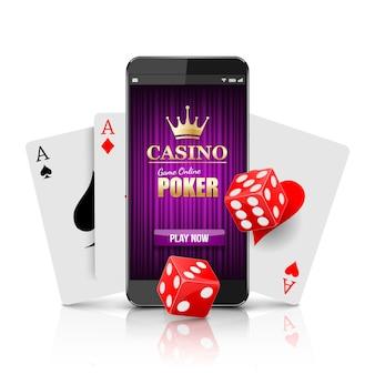 Conceito de casino online