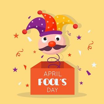 Conceito de celebração do dia dos enganados