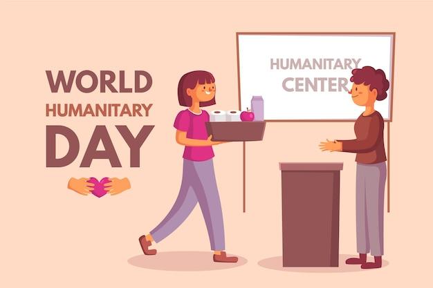 Conceito de centro humanitário