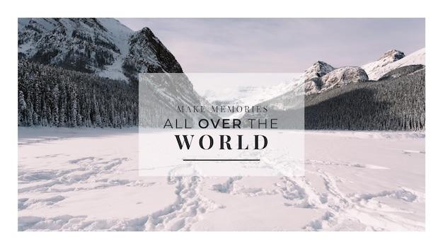 Conceito de citação de aventura
