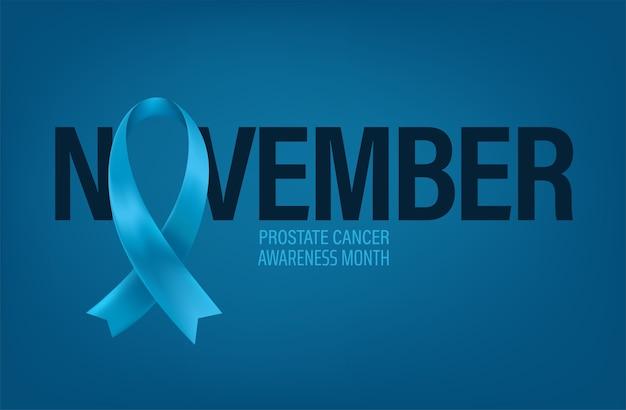 Conceito de conscientização do câncer de próstata
