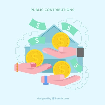 Conceito de contribuição pública