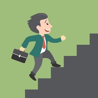 Conceito de crescimento de carreira