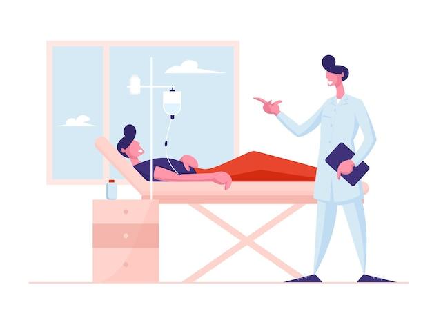 Conceito de cuidados de saúde de medicina.
