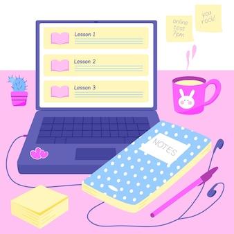 Conceito de cursos on-line