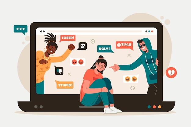 Conceito de cyber bullying