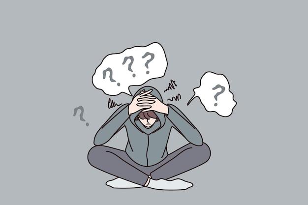 Conceito de depressão e transtorno mental