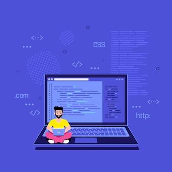 Conceito de desenvolvimento de aplicativo