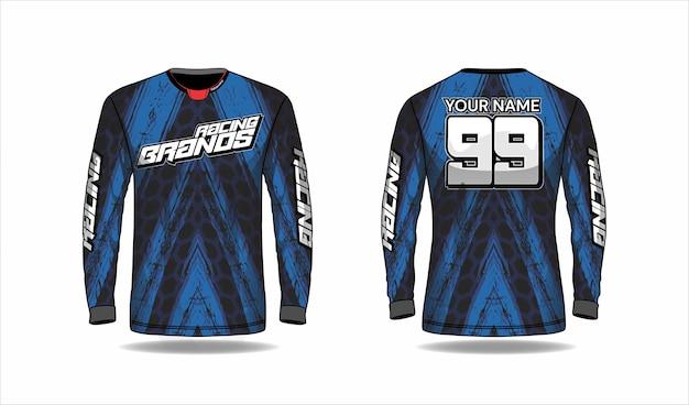 Conceito de design de camisa esporte