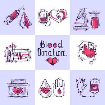 Conceito de design de doadores