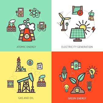 Conceito de design de energia