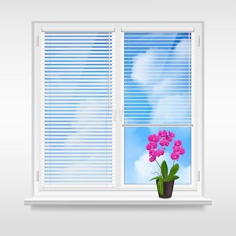 Conceito de design de janela em casa