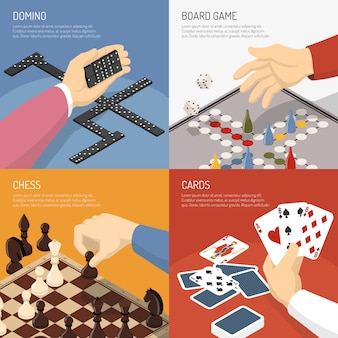 Conceito de design de jogos de tabuleiro