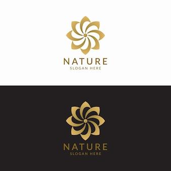 Conceito de design de logotipo de luxo