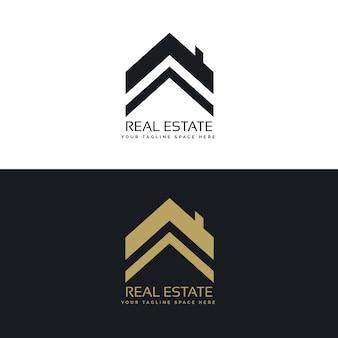 Conceito de design de logotipo imobiliário