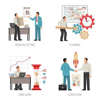 Conceito de design de planejamento